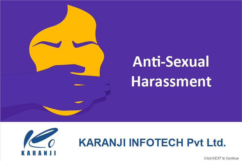 Anti Sexual Harassment